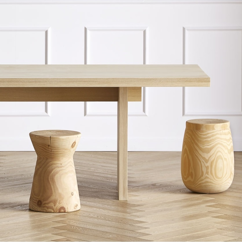 table and stool by Noorstad