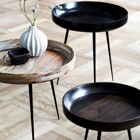 afgewerkte bowl tafels
