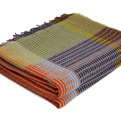 WallaceSewell Basketweave throw - Agatha