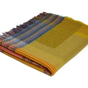 WallaceSewell Pinstripe throw - Hambling