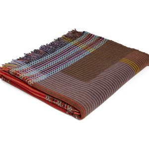 WallaceSewell Pinstripe throw - Rosalind