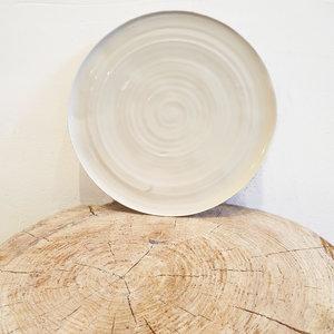 PTZE Porcelain studio Rond bord 25 cm