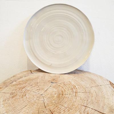 PTZE Porcelain studio PTZE round plate 25 cm