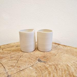PTZE Porcelain studio PTZE Setje De Kus (2 sts)