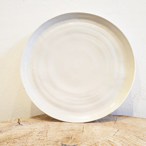 PTZE Porcelain studio Large round plate 31 cm