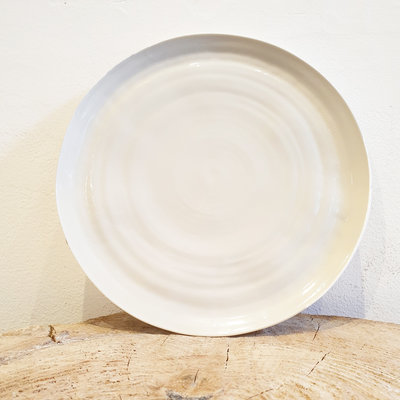 PTZE Porcelain studio PTZE groot rond bord 31 cm