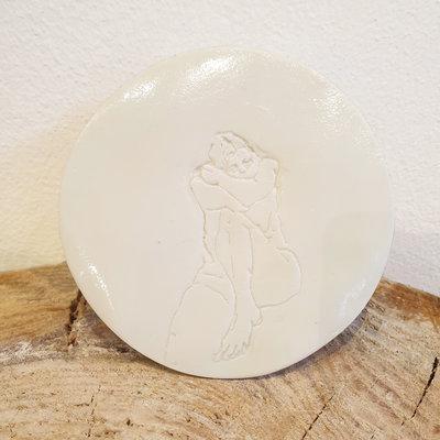 PTZE Porcelain studio PTZE Onderzetter 'Model'