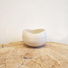 PTZE Porcelain studio Bowl Cocoon