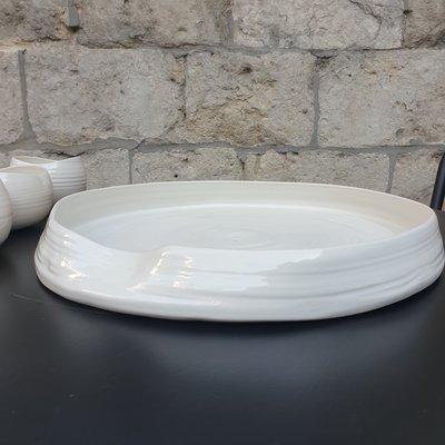PTZE Porcelain studio PTZE Lotus tray
