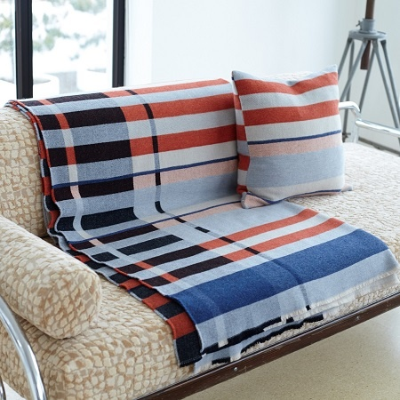 Bauhaus project - Wallace Sewell cushion and throw