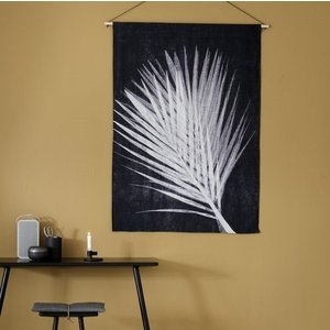 Pernille Folcarelli palm dark wallhanging