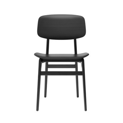 NORR11 NY11 dining chair, black stained