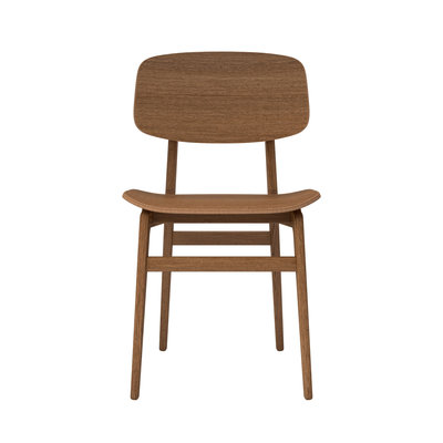 NORR11 NY11 dining chair, smoked oak