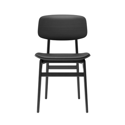 NORR11 NY11 dining chair, premium leather black