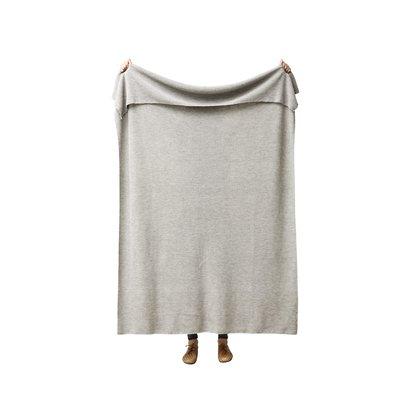 Form & Refine Aymara plaid grijs