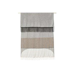 Form & Refine Amayra plaid pattern grey