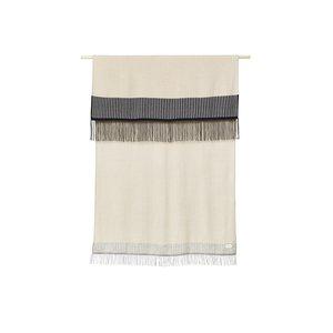 Form & Refine Amayra plaid striped cream