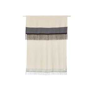 Form & Refine Aymara plaid beige gestreept