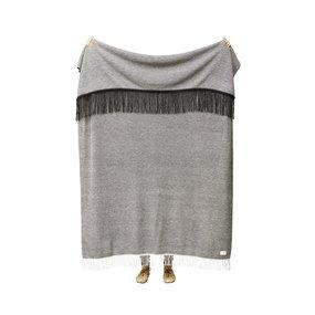 Form & Refine Aymara plaid grijs mélange