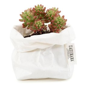 UASHMAMA® Paper bag white