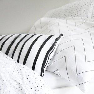 ooh noo Zigzag  pillowcase