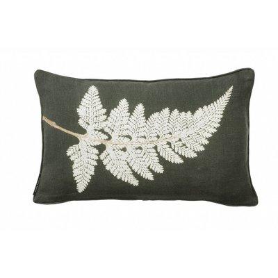 Pernille Folcarelli Fern white cushion