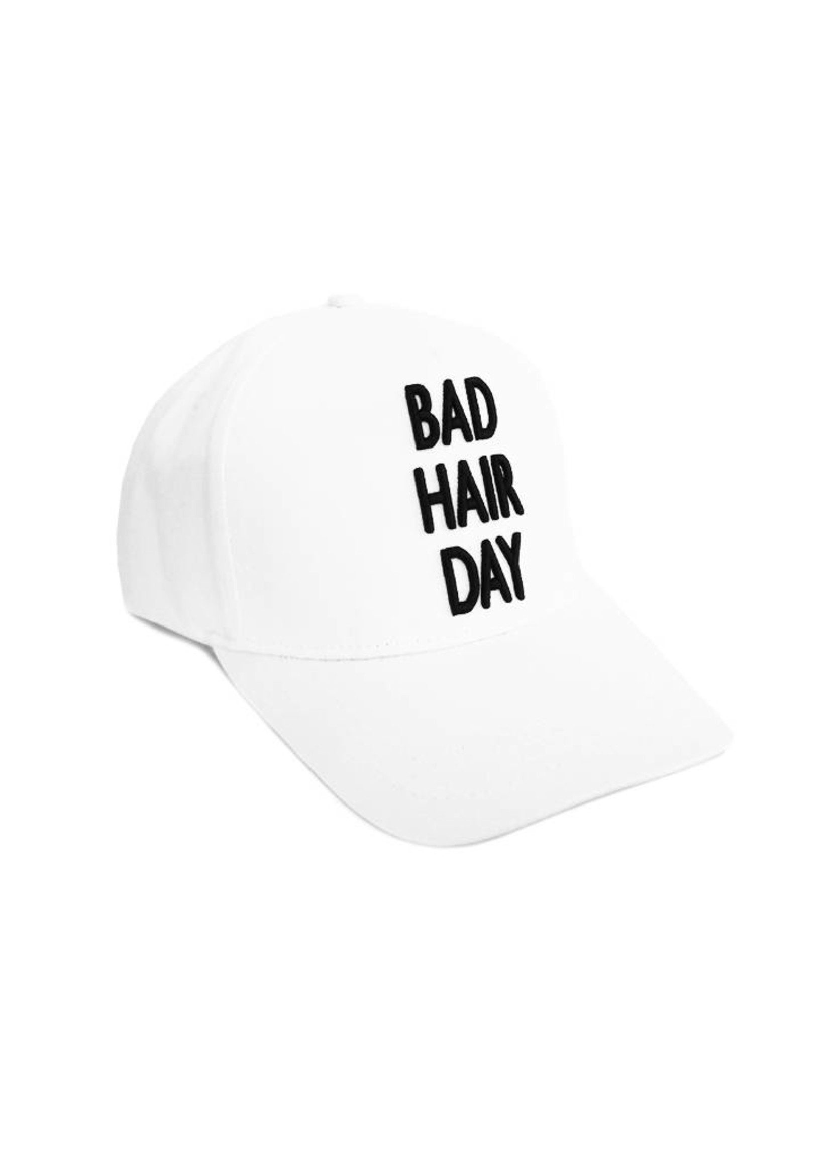 Bad Hair Day - white