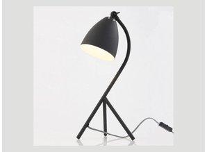 tafellamp 7676ZW zwart Elin