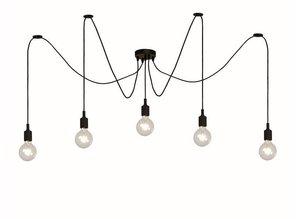 hanglamp 08408/05/30  zwart  Fix Multi