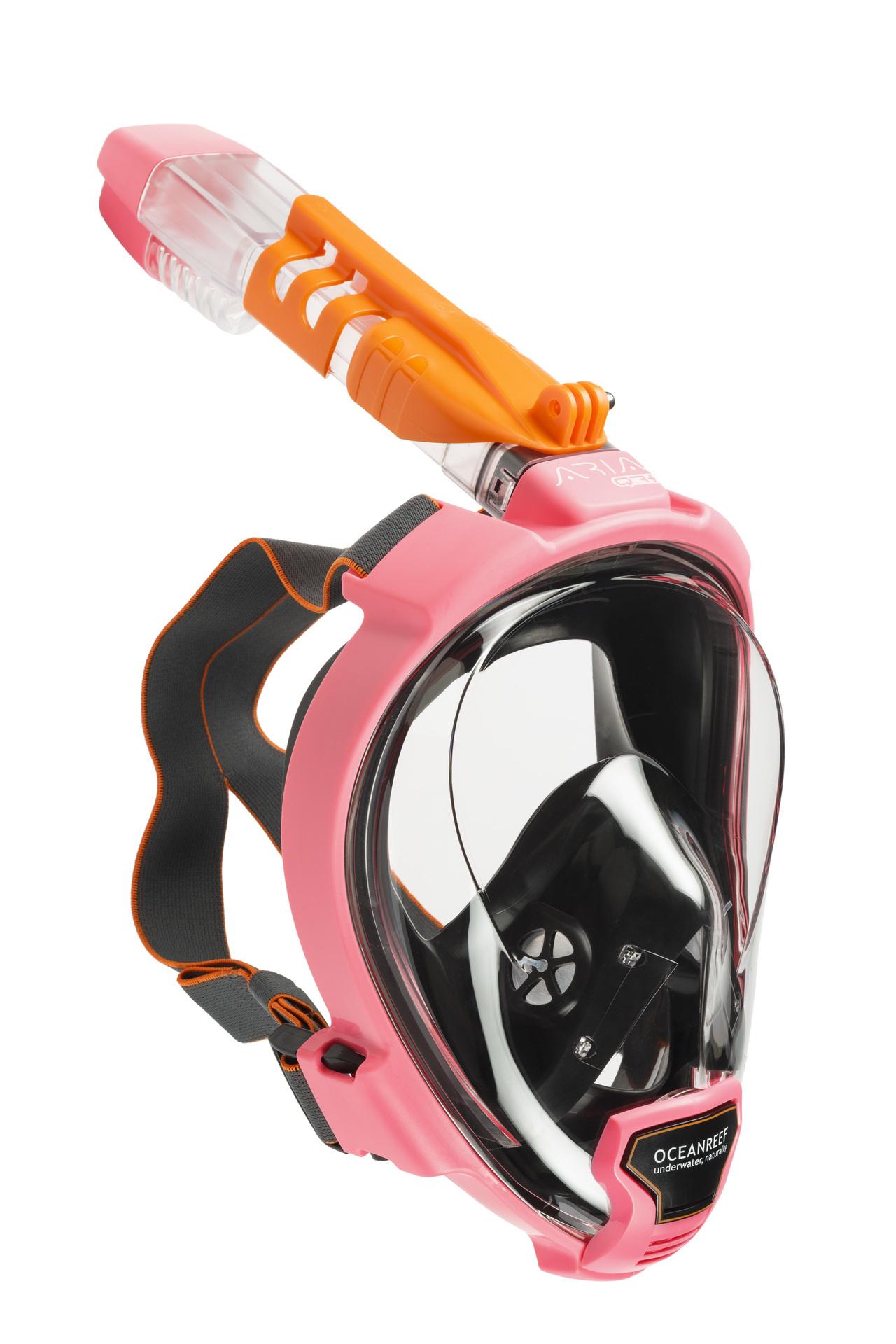 Ocean Reef Aria QR+  Snorkelmasker Roze