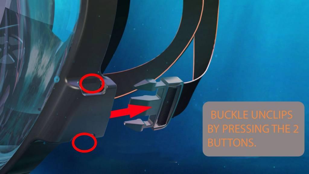 Ocean Reef Aria QR+  Snorkelmasker Turquoise