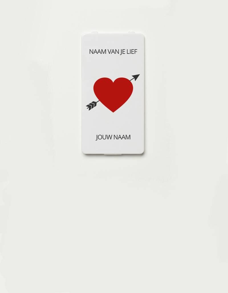 YOU·P® YOU·P® cover | Heart + Arrow + Names of choice