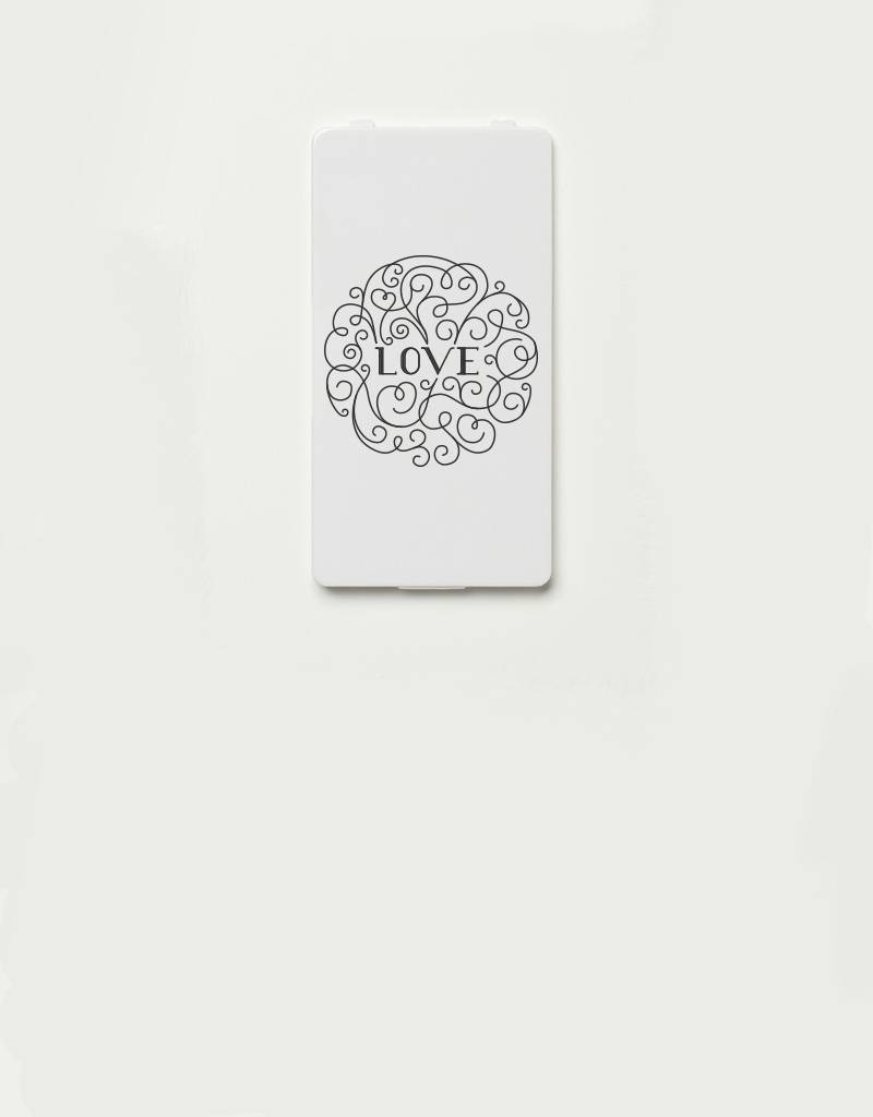YOU·P® YOU·P®-klepje limited edition |  LOVE (grijs)