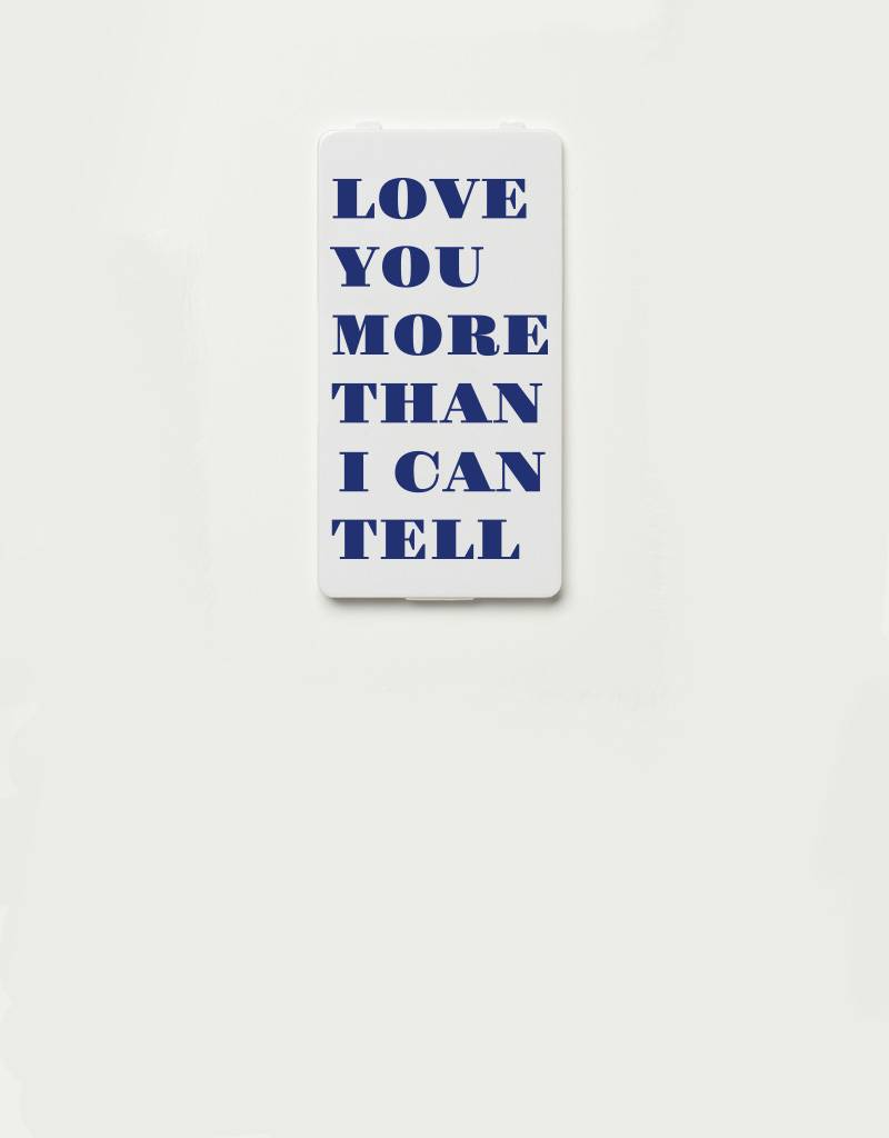 YOU·P® YOU·P® Limited Edition - cover for YOU·P smartphone holder | LOVE YOU MORE THAN I CAN TELL