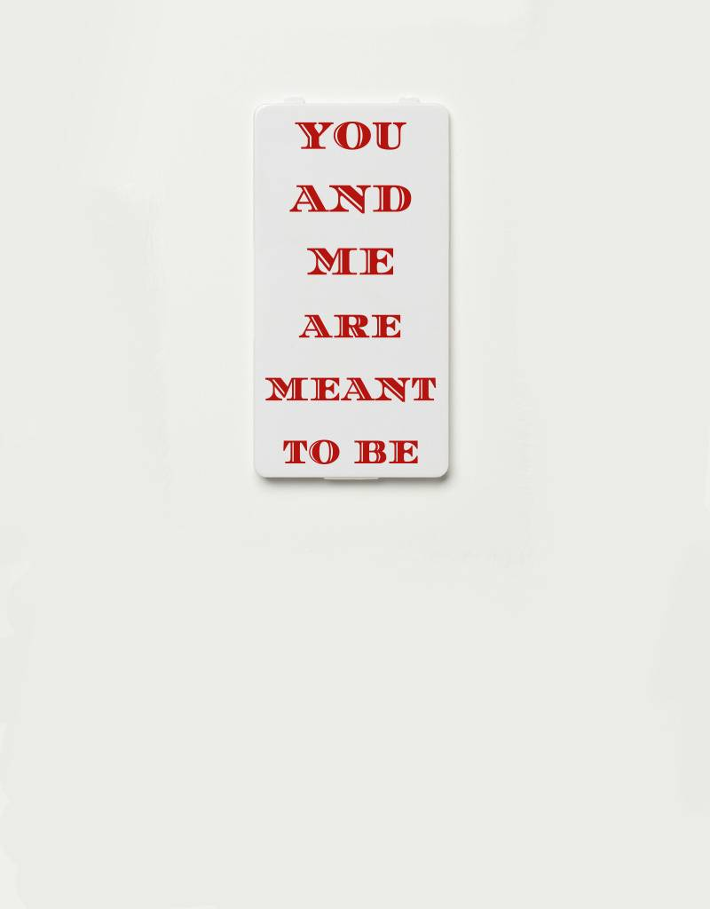 YOU·P® YOU·P® Limited Edition - cover for YOU·P smartphone holder | YOU AND ME ARE MEANT TO BE (red)