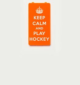 YOU·P® KEEP CALM and PLAY HOCKEY  - Orange