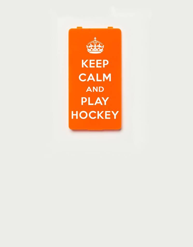 YOU·P® YOU·P®-klepje limited edition   KEEP CALM and PLAY HOCKEY - Oranje