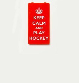 YOU·P® KEEP CALM and PLAY HOCKEY