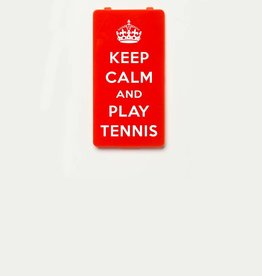 YOU·P® KEEP CALM and PLAY TENNIS