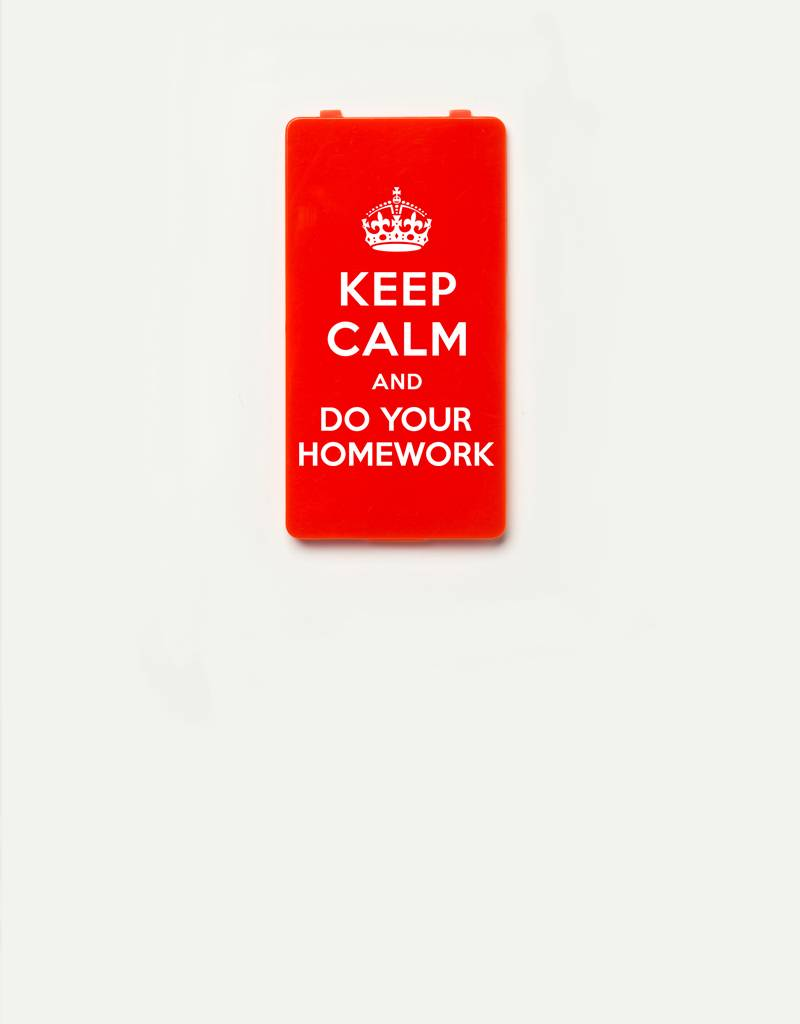 YOU·P® YOU·P® Limited Edition - cover for YOU·P smartphone holder | DO YOUR HOMEWORK | Red