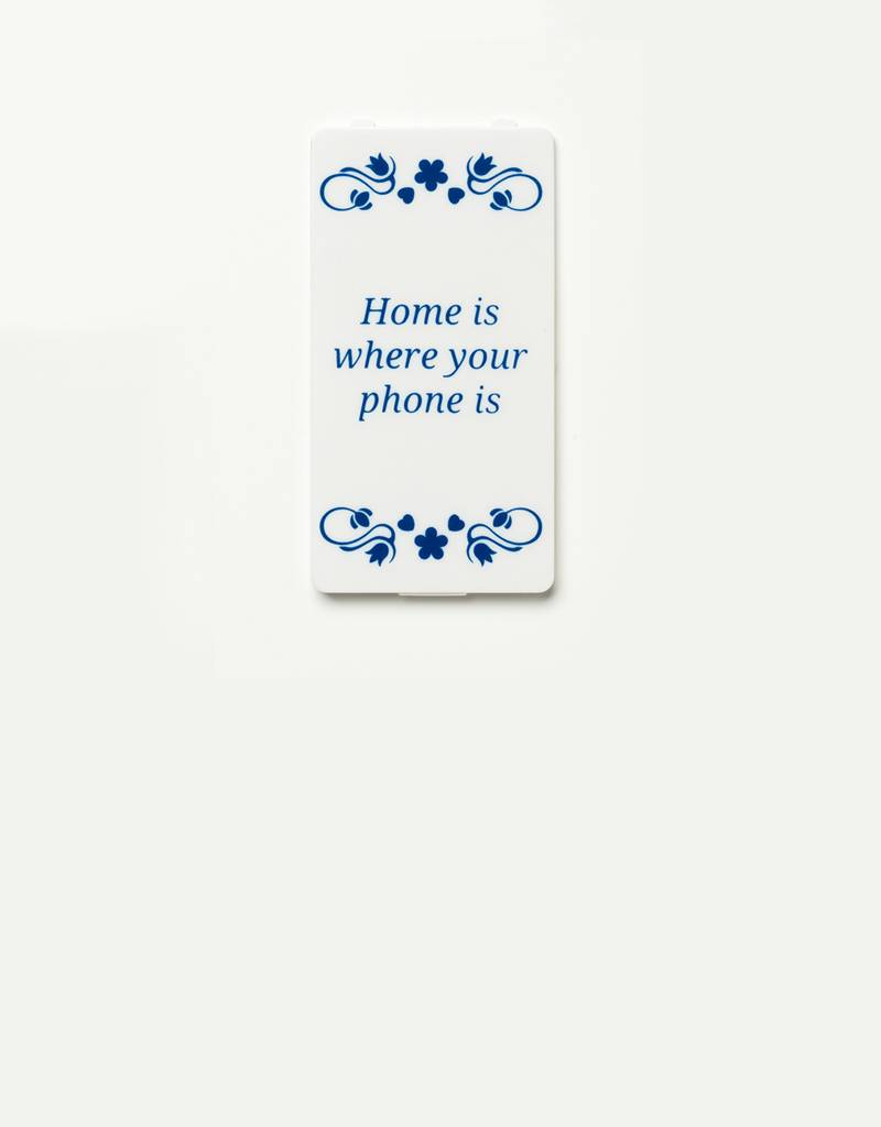 YOU·P® YOU·P® cover | white | Home Is Where Your Phone Is