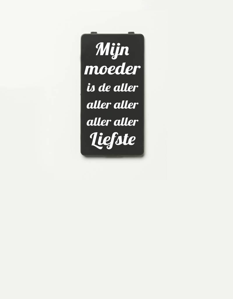 YOU·P® YOU·P® cover | gray | Mijn Moeder Is De Aller Aller Liefste