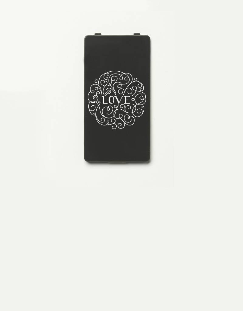 YOU·P® YOU·P® Limited Edition - cover for YOU·P smartphone holder | LOVE (white on gray)