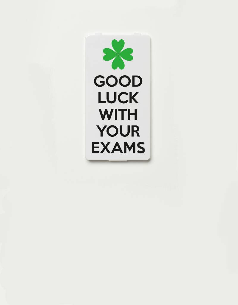 YOU·P® YOU·P®cover | Good luck with your exams