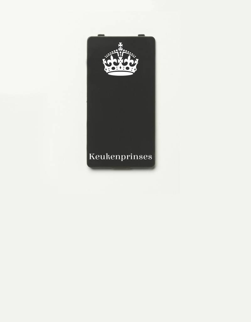 YOU·P® YOU·P® - cover for YOU·P smartphone holder | Keukenprinses (white on gray)