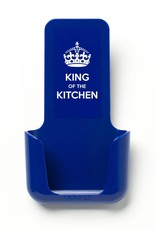 YOU·P® YOU·P® smartphonehouder | blauwe houder | blauw klepje |  King of the Kitchen