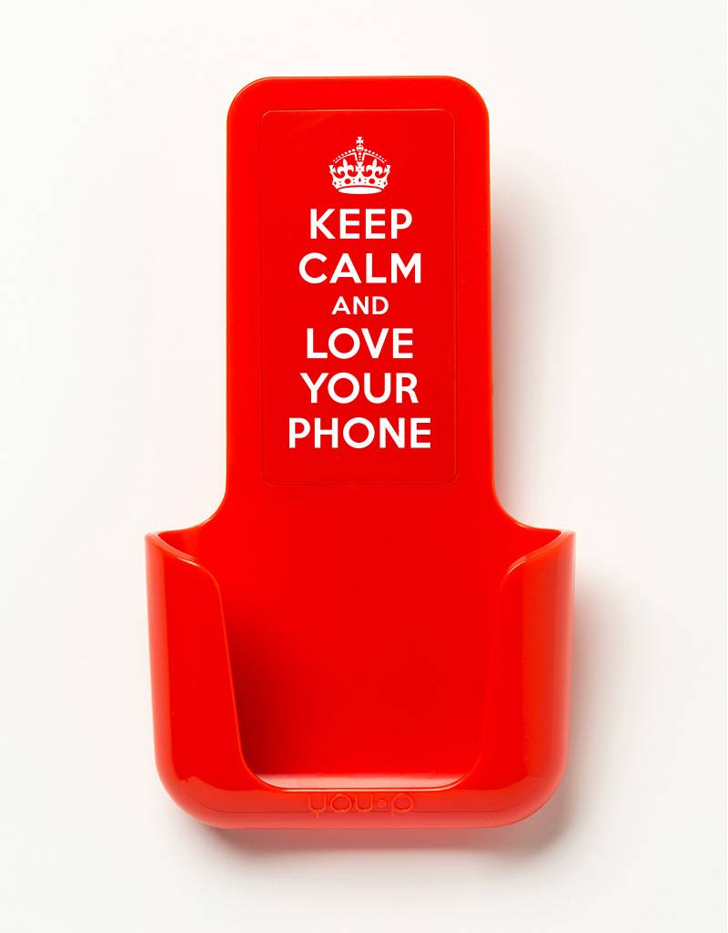 YOU·P® YOU·P® smartphonehouder | Keep Calm Love Your Phone