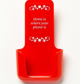 YOU·P® YOU·P® (div kleuren) Home Is Where Your Phone Is