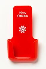 YOU·P® YOU·P® smartphonehouder | Merry Christmas Sneeuwvlok