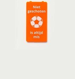 YOU·P® Oranje | Niet Geschoten Is Altijd Mis